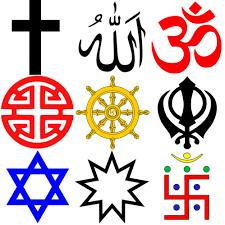 Le religioni in cartolina