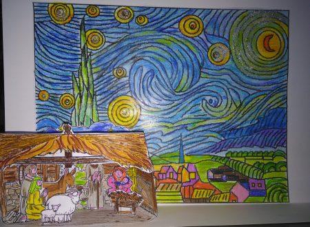 La natività sotto il cielo stellato di Van Gogh